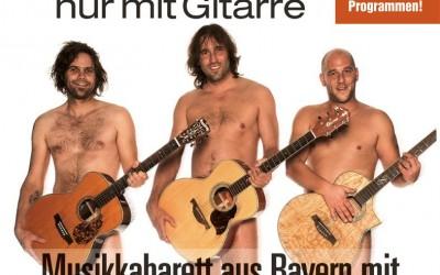3 Männer nur mit Gitarre – Vorverkauf hat begonnen